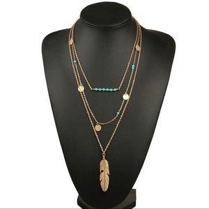 🌞SUMMER SALE🌞 Gold multilayer bohemian necklace